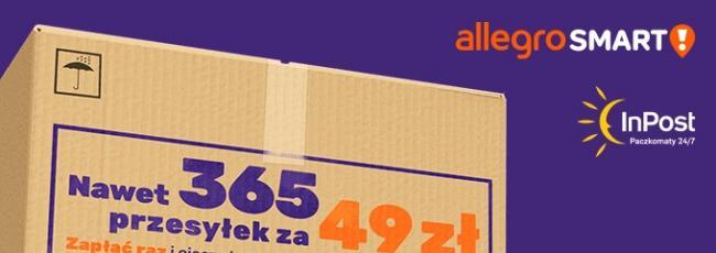 6c077de3af601d InPost partnerem programu Allegro SMART! Mamy już 4000 Paczkomatów